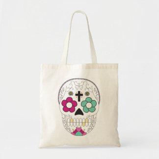 Calavera skull Tote bag
