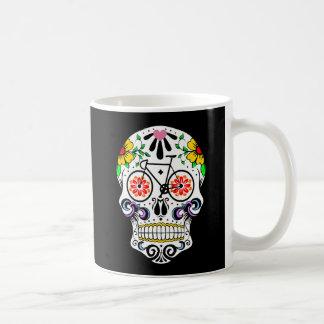 Calavera - Sugar Skull Bike Basic White Mug