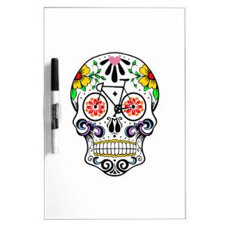 Calavera - Sugar Skull Bike Dry-Erase Boards