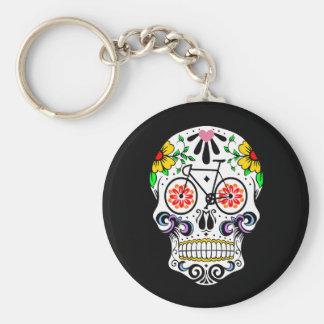 Calavera - Sugar Skull Bike Key Ring