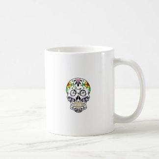 Calavera - Sugar Skull Cruiser Bike Basic White Mug