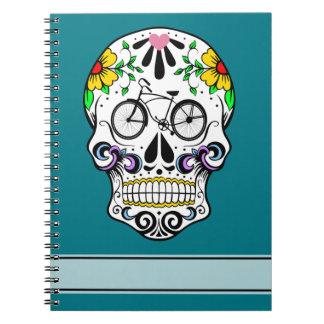 Calavera - Sugar Skull Cruiser Bike Note Book