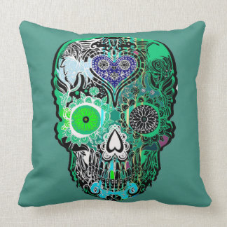 Calavera, Sugar skull Cushion