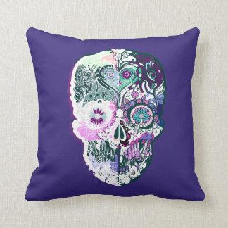 Calavera - Sugar skull  No5 Cushion