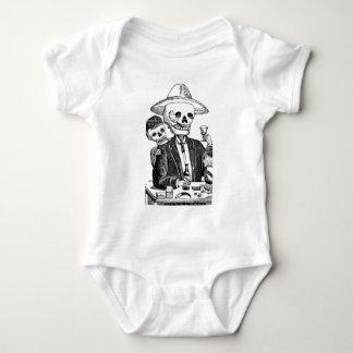 Calaveras from Guadalajara, Mexico Baby Bodysuit