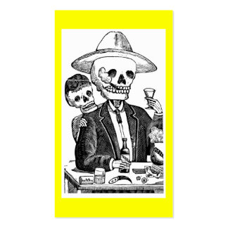Calaveras from Guadalajara, Mexico Pack Of Standard Business Cards