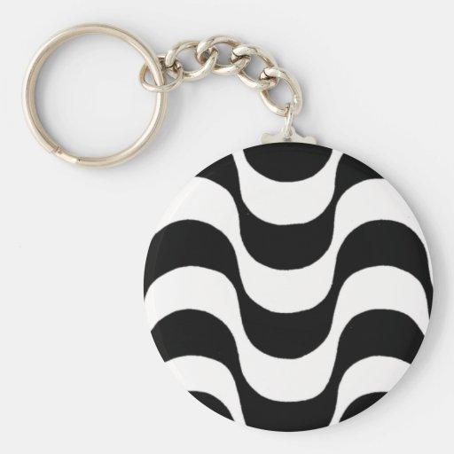 Calçadão de Copacabana Key Chain