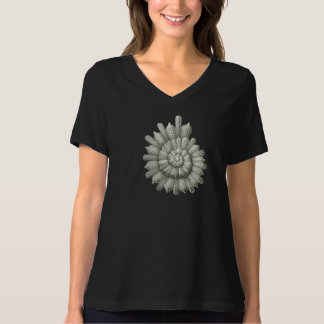 Calcarina clavigera Ernst Haeckel Fine Art T-Shirt