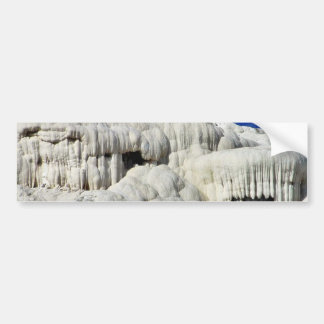 Calcium Mammoth Hot Springs Bumper Sticker