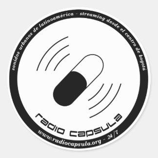 Calcomanias de RC Classic Round Sticker
