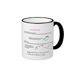 Calcul vector Mug