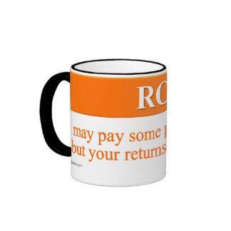 Calculating Your Return on Investment Ringer Mug
