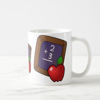 Calculation of apples - basic white mug