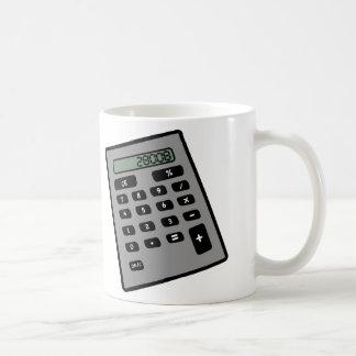 Calculator - 28008 basic white mug