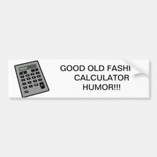 Calculator - 28008 car bumper sticker