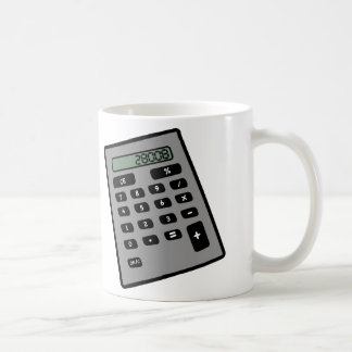 Calculator - 28008 classic white coffee mug