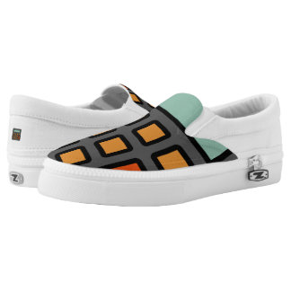 """Calculator Art"" Slip-On Shoes"