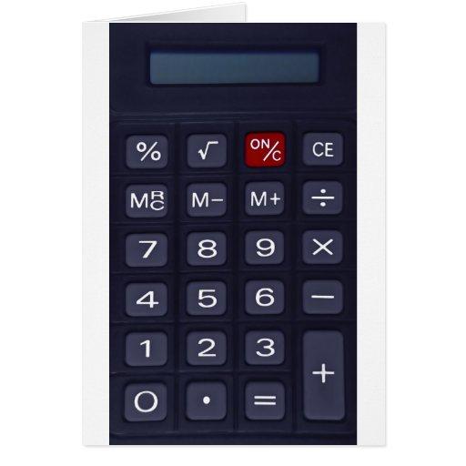 calculator cards