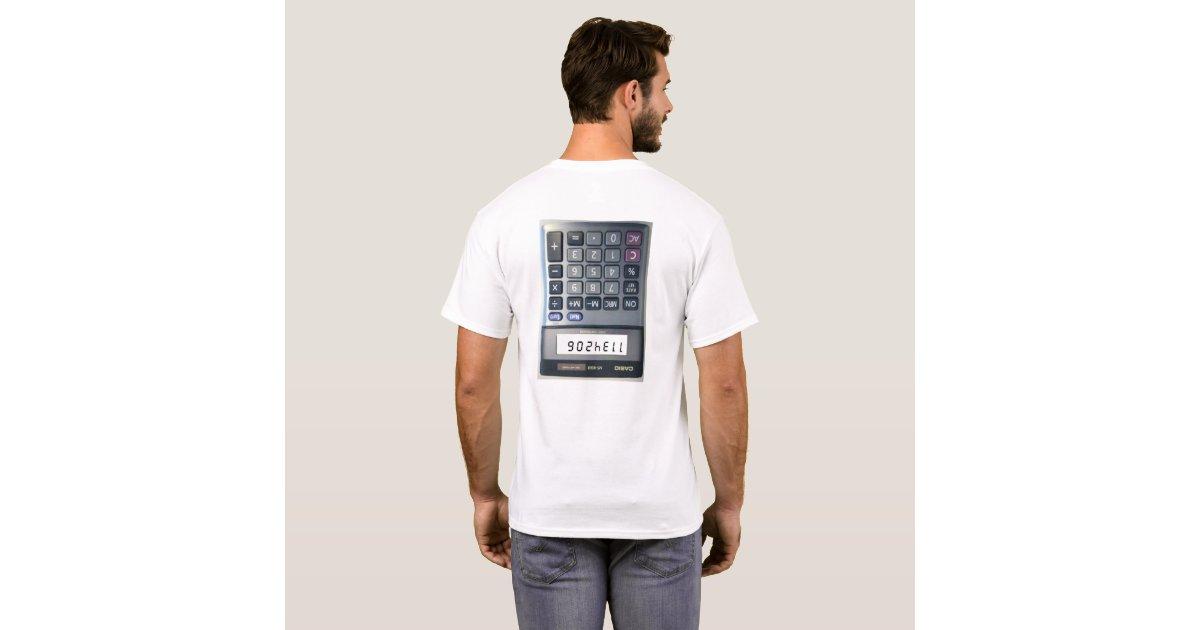 Wedding Gift Calculator Uk : Calculator Joke T-Shirt Zazzle