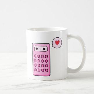 Calculator Love Basic White Mug