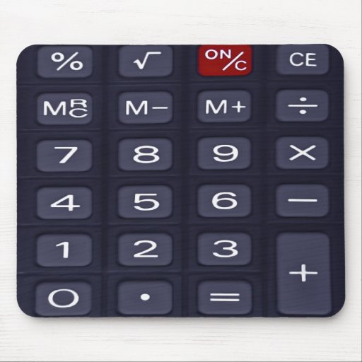 calculator mousepads