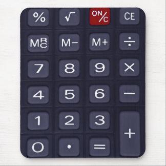 calculator mousepad