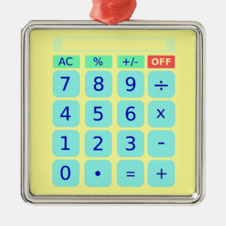 Calculator Ornaments