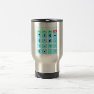 Calculator Travel Mug