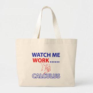 CALCULUS DESIGN LARGE TOTE BAG