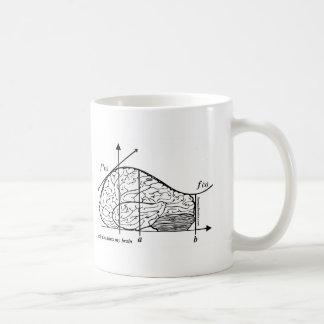 Calculus Hurts my Brain Basic White Mug