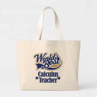 Calculus Teacher Gift For (Worlds Best) Tote Bag