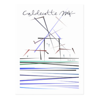 Caldecotte postcard