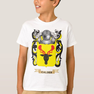 Calder Coat of Arms (Family Crest) T-Shirt