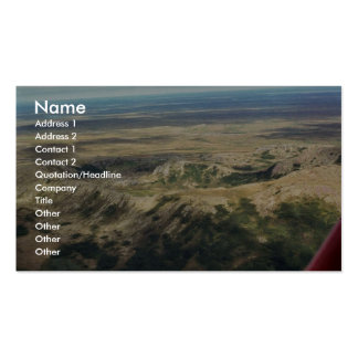 Caldera at Ingakslugwat Hills Business Card Template