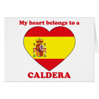 Caldera Card