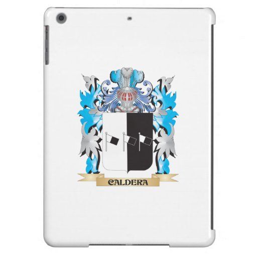 Caldera Coat of Arms - Family Crest Cover For iPad Air