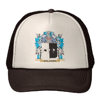 Caldera Coat of Arms - Family Crest Hats
