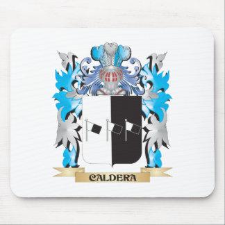Caldera Coat of Arms - Family Crest Mousepad