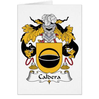 Caldera Family Crest Cards