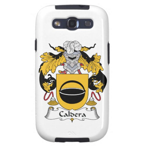 Caldera Family Crest Samsung Galaxy SIII Cases
