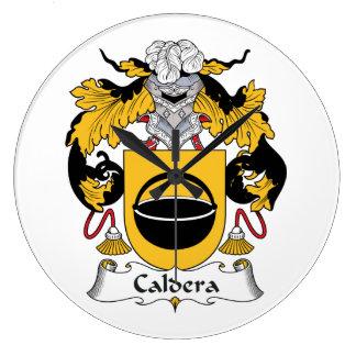 Caldera Family Crest Wall Clocks