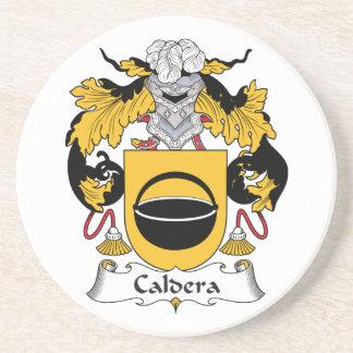 Caldera Family Crest Coaster