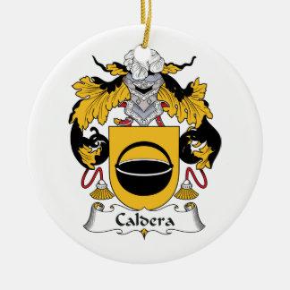 Caldera Family Crest Ornaments
