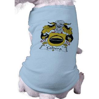 Caldera Family Crest Dog Clothing