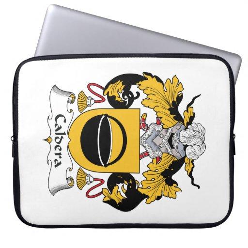 Caldera Family Crest Laptop Sleeve