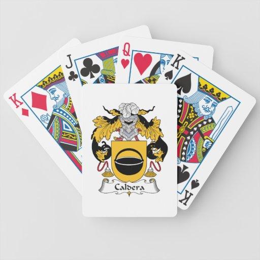 Caldera Family Crest Deck Of Cards