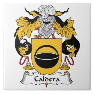 Caldera Family Crest Ceramic Tiles