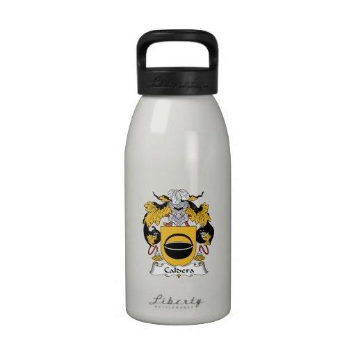 Caldera Family Crest Reusable Water Bottles