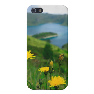 Caldera lake in Azores islands iPhone 5/5S Covers