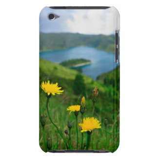 Caldera lake in Azores islands iPod Touch Case
